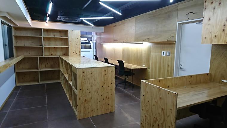 施工事例#048 中央区オフィス リノベーション