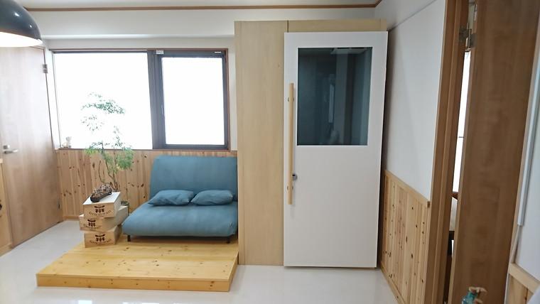 施工事例#072 渋谷区シェアハウス 造作